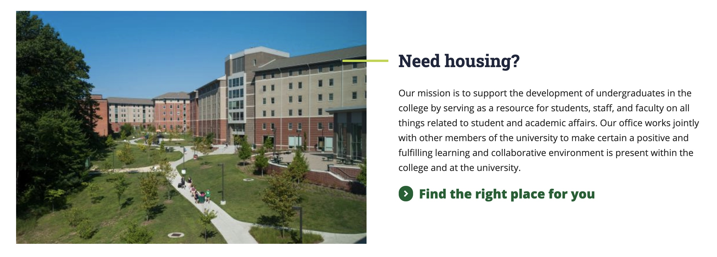 gmu cos fancy feature with aside